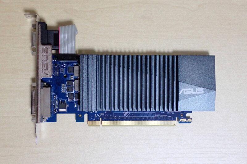 ASUS ファンレスグラフィックボード GT710-SL-2GD5