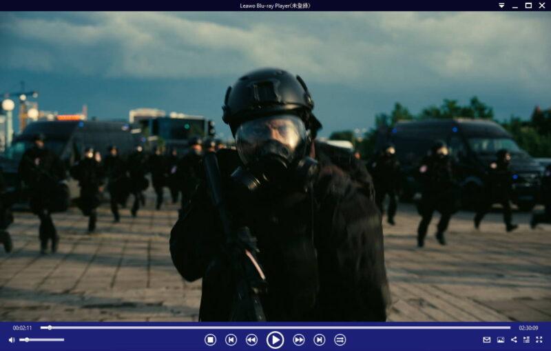 Leawo Blu-ray Playerで映画TENET テネットを鑑賞