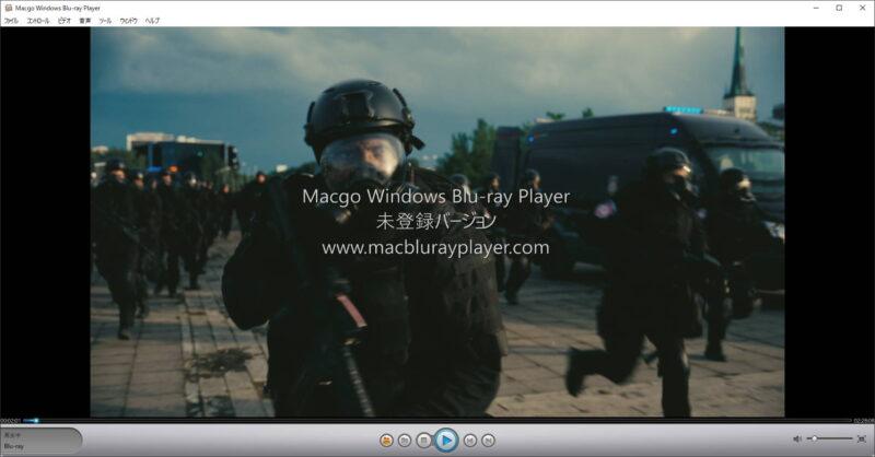 Macgo Windows Blu-ray Playerで映画TENET テネットを鑑賞