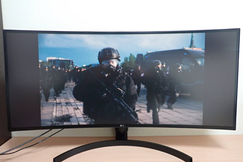 I-O DATA 外付けポータブルブルーレイドライブ EX-BD03Kで映画TENET テネットを鑑賞