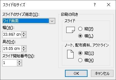 PowerPoint 画像サイズ