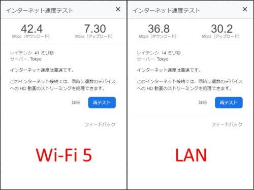 Ziyituod 無線LANカードでWi-Fiと有線のスピード比較